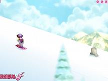 Барби-сноубордистка