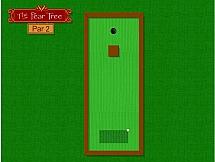 Мини гольф на каникулах