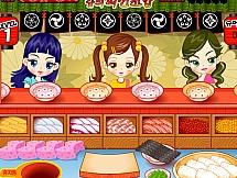 Мини ресторан по суши