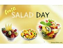 Салат из экзотических фруктов