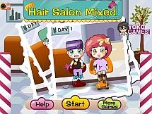 Широкоформатная парикмахерская