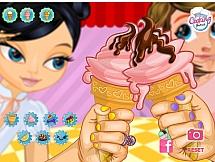 Дизайн сладкого мороженое
