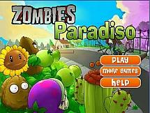 Бомбы против растений с зомби