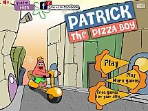 Патрик развозит пиццу
