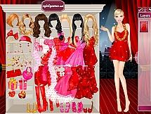 Барби в красном