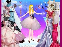 Шикарное платье для Барби