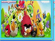 Angry Birds с номерами