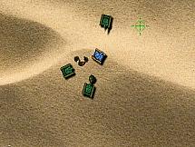 Маленькие танки в большой пустыни