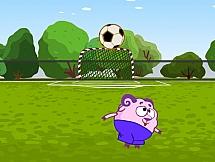 Смешарики набивают мяч