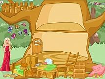 Обустроить домик для Винкс