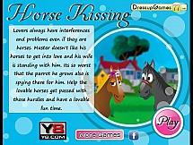 Поцелуй двух лошадей