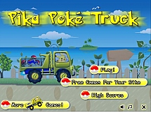 Покемон за рулем грузовика