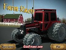 Мощные тракторы на кольцевой трассы