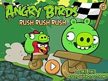 Angry Birds на самодельном автомобиле