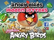 Мелкие буквы на angry birds