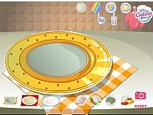 Подготовить тарелку и подобрать завтрак