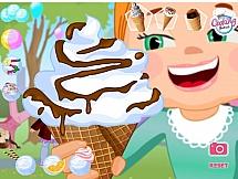 Яркий букет из мороженого