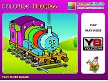 Томас - веселый паровозик