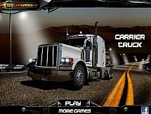 Водитель огромного грузовика