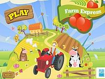 Перевозка овощей на ферме