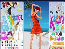 Легкий стиль на пляж