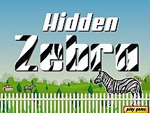 Зебра в джунглях