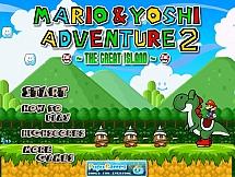 Марио и динозавр Йоши