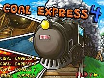 Поезд перевозит уголь